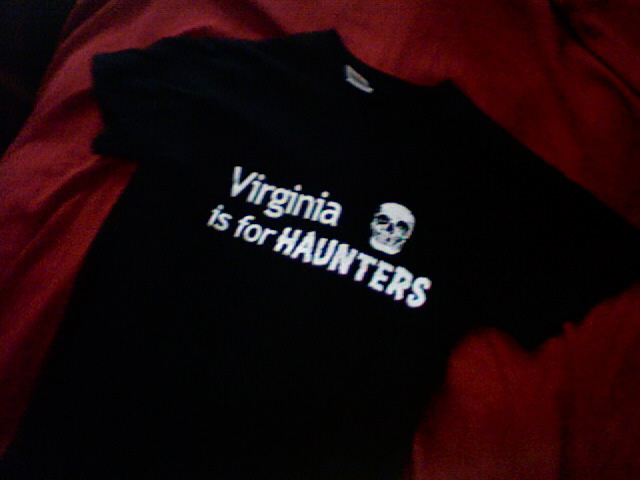 Virginia is for Haunters t-shirt