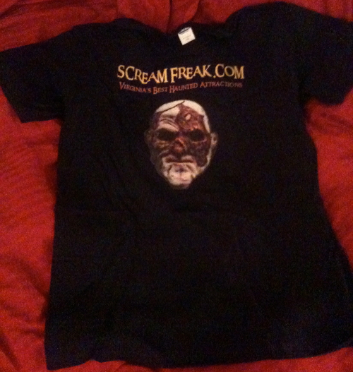 ScreamFreak.com t-shirt